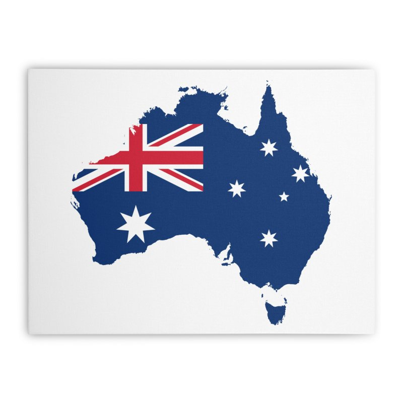 Australian Patriot Home Products Home Stretched Canvas by Vectors NZ