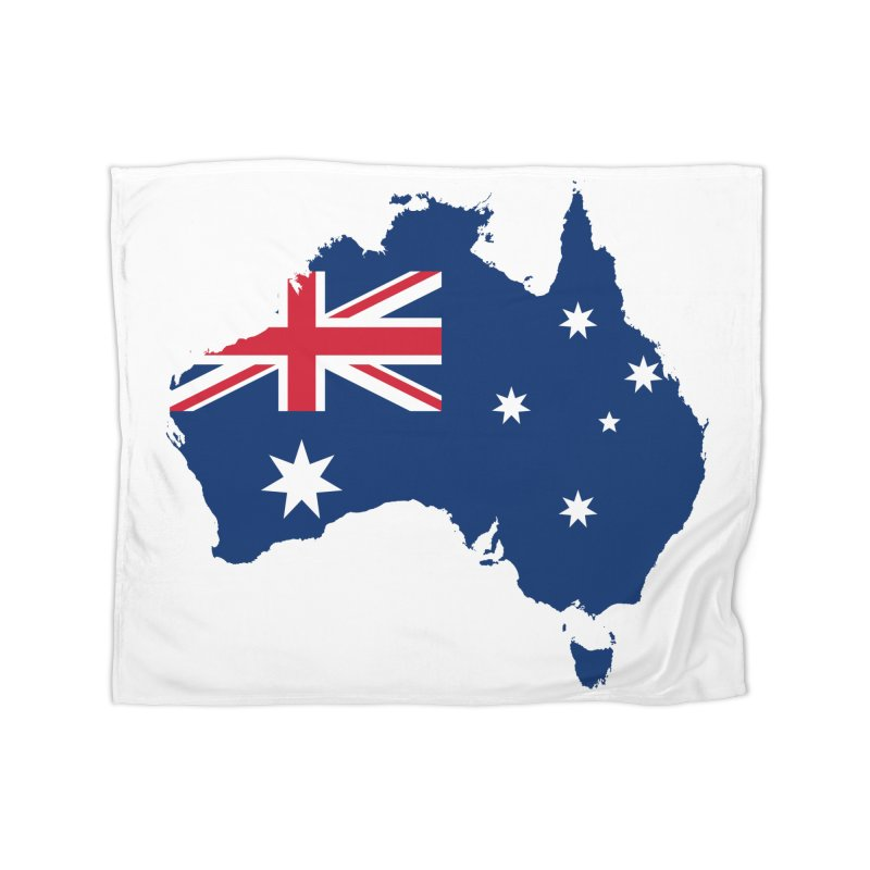 Australian Patriot Home Products Home Blanket by Vectors NZ