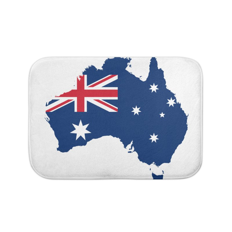 Australian Patriot Home Products Home Bath Mat by Vectors NZ
