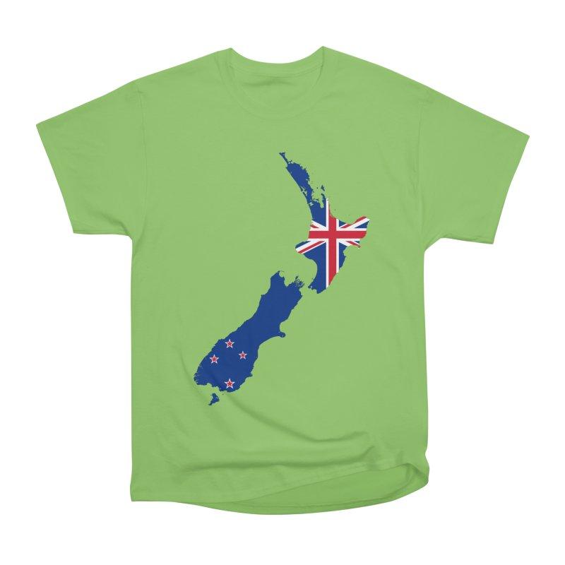 New Zealand Patriot Apparel & Accessories Men's Heavyweight T-Shirt by Vectors NZ