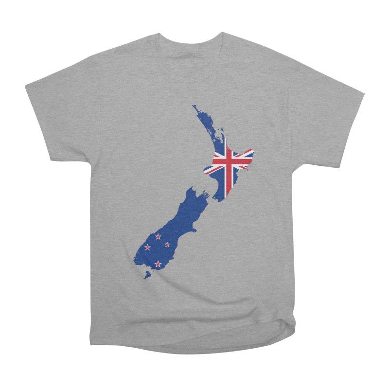 New Zealand Patriot Apparel & Accessories Women's Heavyweight Unisex T-Shirt by Vectors NZ