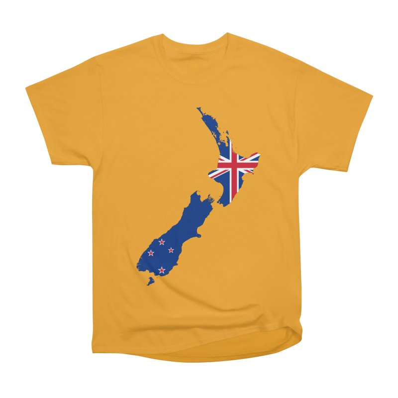 New Zealand Patriot Apparel & Accessories Men's Heavyweight T-Shirt by Vectors NZ