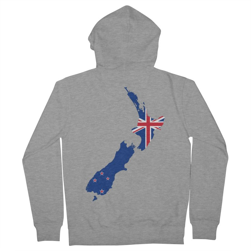 New Zealand Patriot Apparel & Accessories Men's French Terry Zip-Up Hoody by Vectors NZ