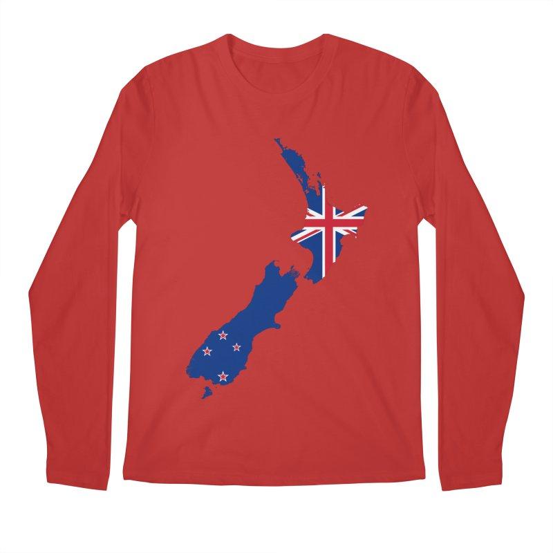 New Zealand Patriot Apparel & Accessories Men's Regular Longsleeve T-Shirt by Vectors NZ