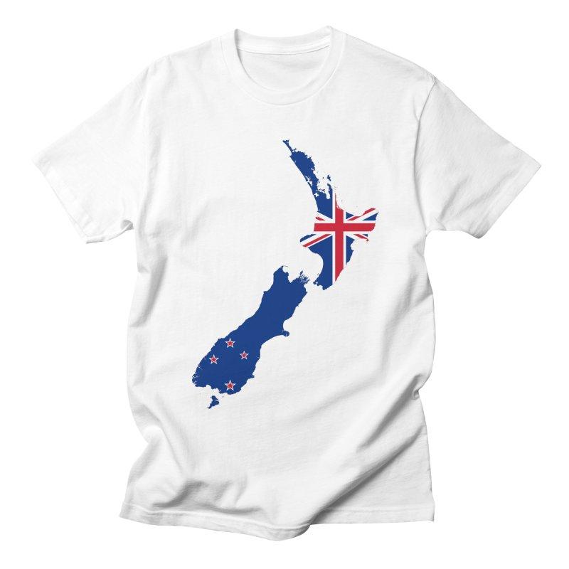 New Zealand Patriot Apparel & Accessories Women's Regular Unisex T-Shirt by Vectors NZ