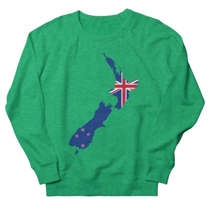 New Zealand Patriot Apparel & Accessories Men's French Terry Sweatshirt by Vectors NZ