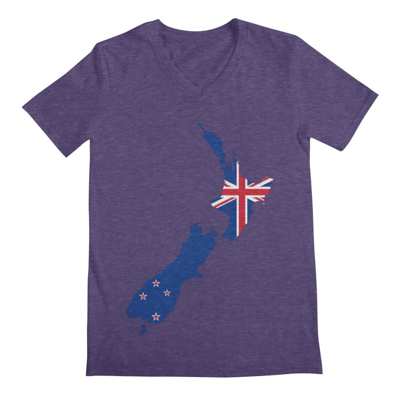 New Zealand Patriot Apparel & Accessories Men's Regular V-Neck by Vectors NZ