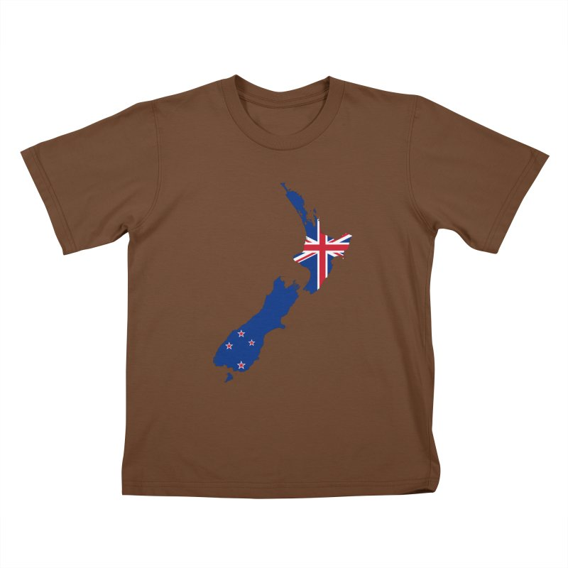 New Zealand Patriot Apparel & Accessories Kids T-Shirt by Vectors NZ