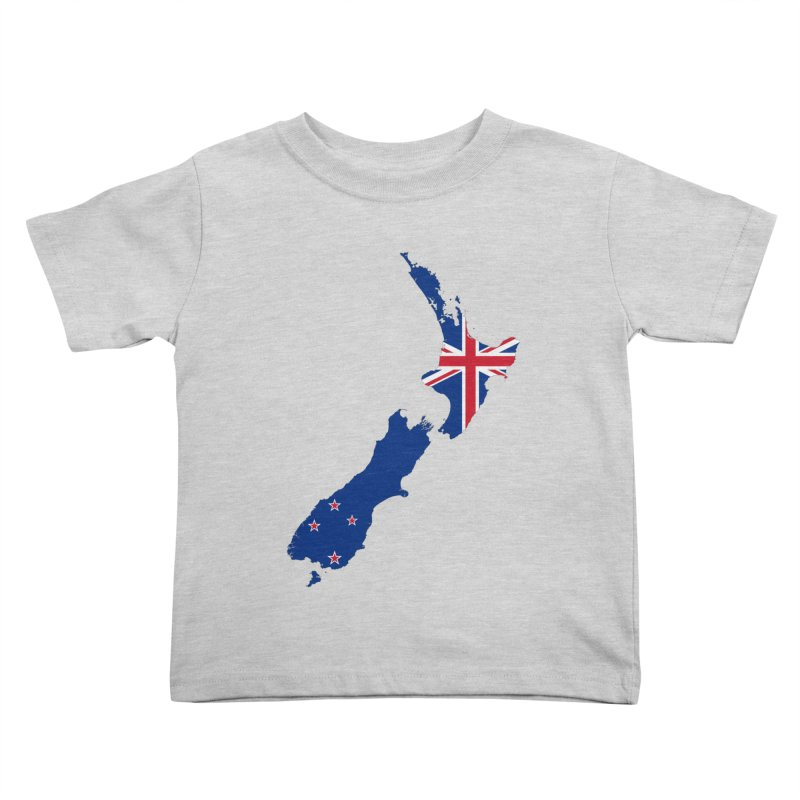 New Zealand Patriot Apparel & Accessories Kids Toddler T-Shirt by Vectors NZ