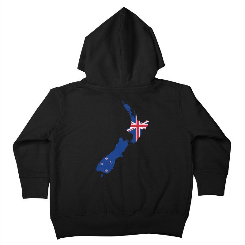 New Zealand Patriot Apparel & Accessories Kids Toddler Zip-Up Hoody by Vectors NZ