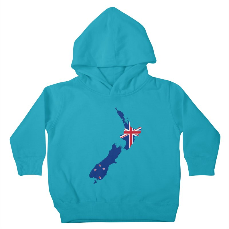 New Zealand Patriot Apparel & Accessories Kids Toddler Pullover Hoody by Vectors NZ