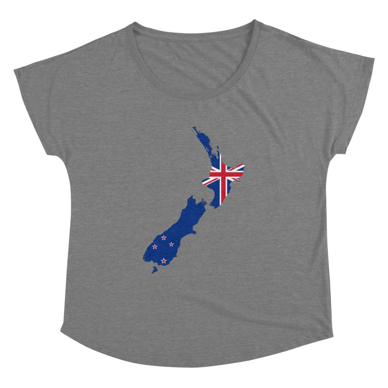 New Zealand Patriot Apparel & Accessories Women's Dolman Scoop Neck by Vectors NZ