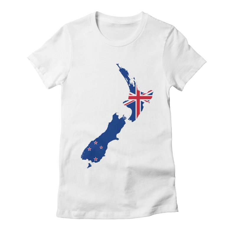 New Zealand Patriot Apparel & Accessories Women's Fitted T-Shirt by Vectors NZ