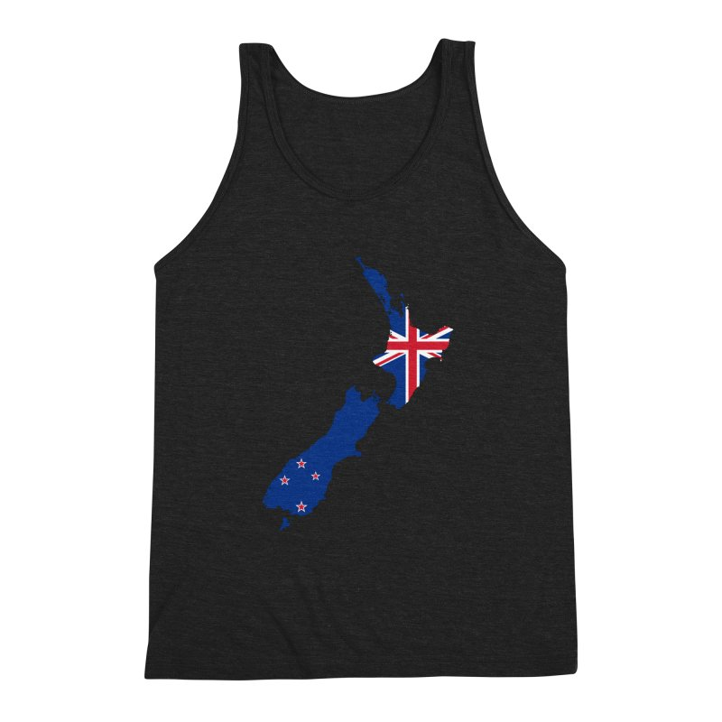 New Zealand Patriot Apparel & Accessories Men's Triblend Tank by Vectors NZ