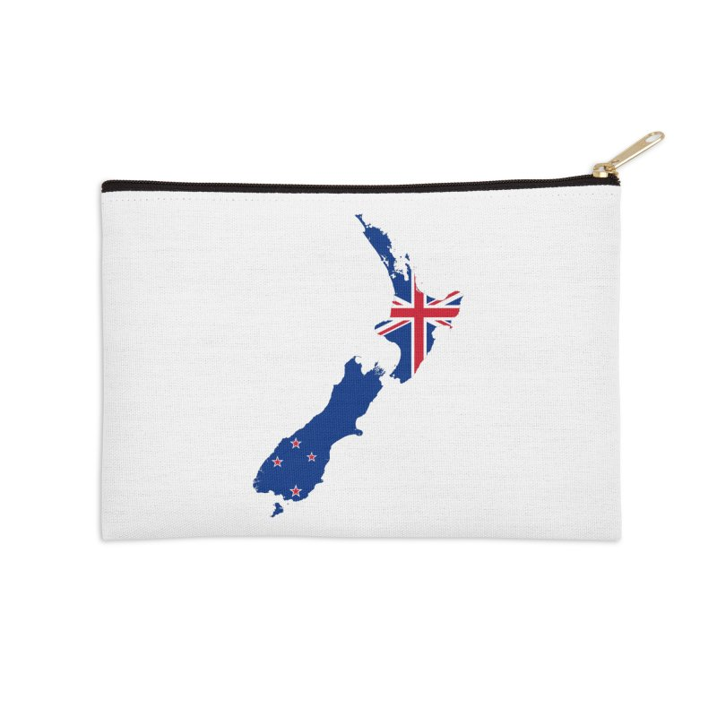 New Zealand Patriot Apparel & Accessories Accessories Zip Pouch by Vectors NZ