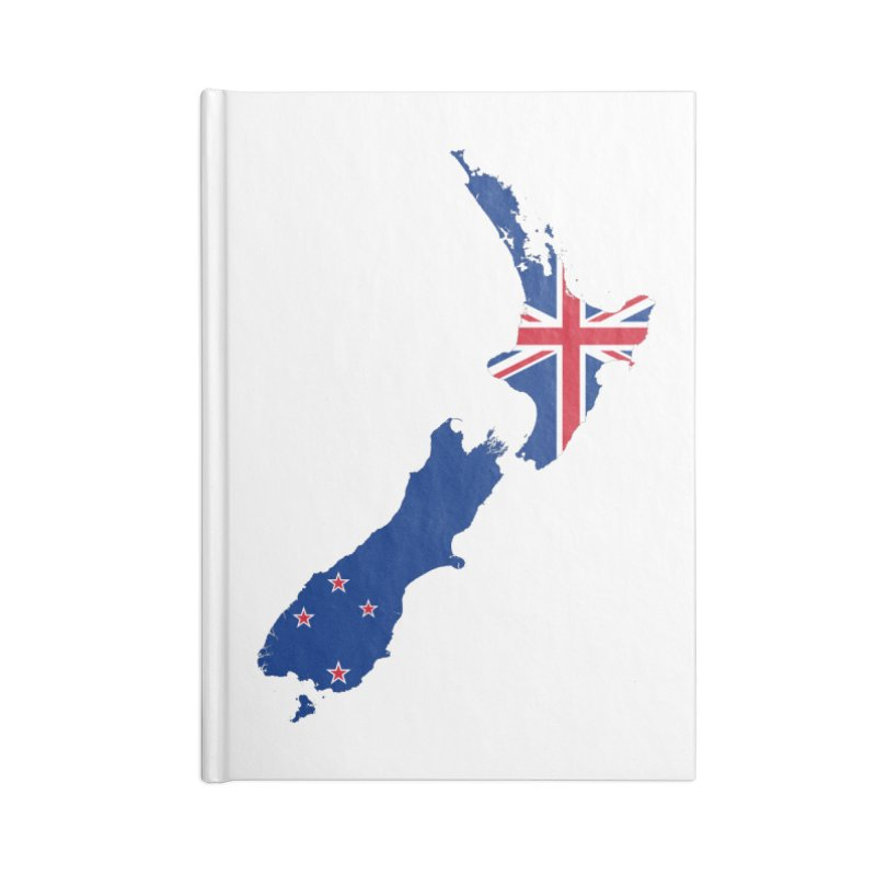 New Zealand Patriot Apparel & Accessories Accessories Blank Journal Notebook by Vectors NZ
