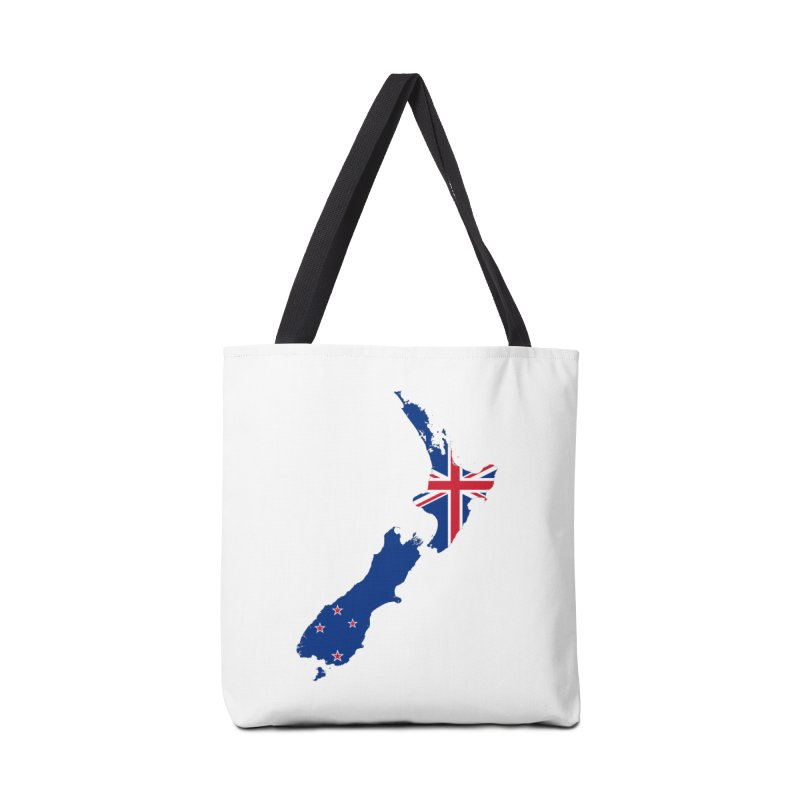 New Zealand Patriot Apparel & Accessories Accessories Tote Bag Bag by Vectors NZ