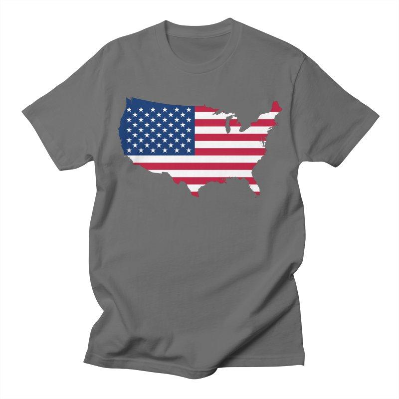 United States Patriot Apparel & Accessories Women's Regular Unisex T-Shirt by Vectors NZ