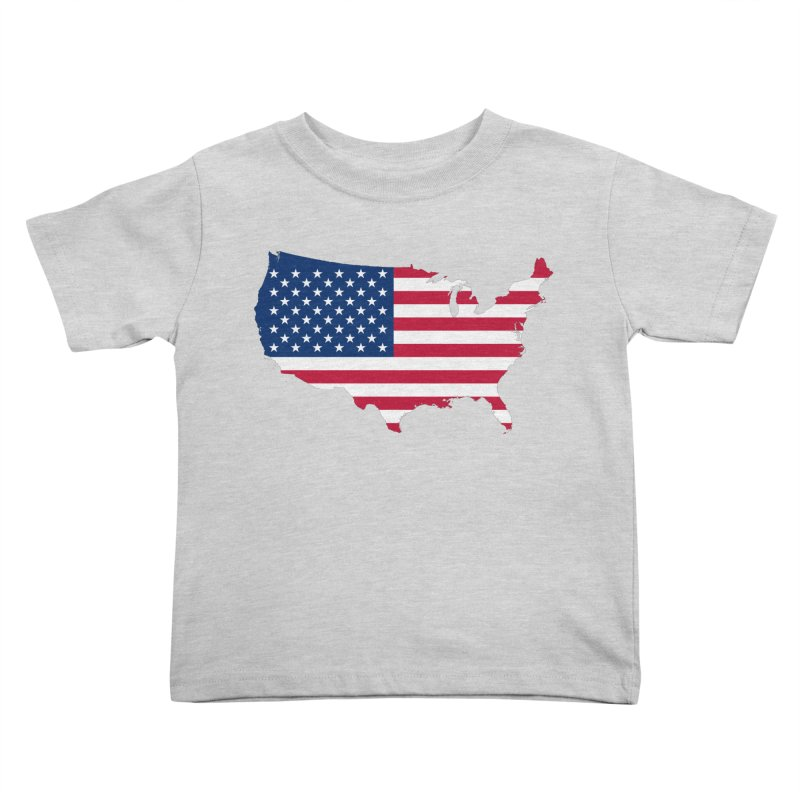 United States Patriot Apparel & Accessories Kids Toddler T-Shirt by Vectors NZ