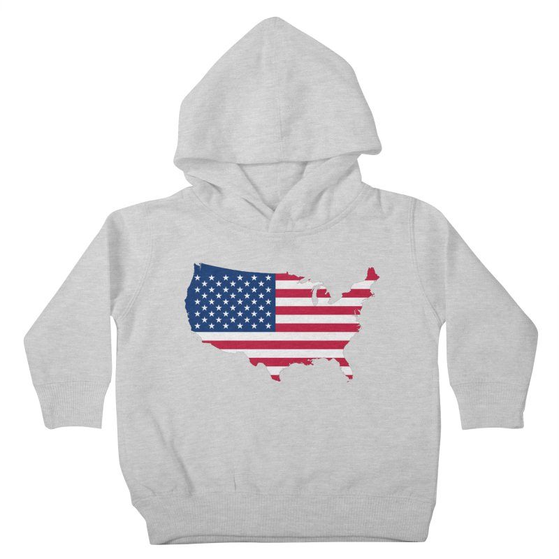 United States Patriot Apparel & Accessories Kids Toddler Pullover Hoody by Vectors NZ