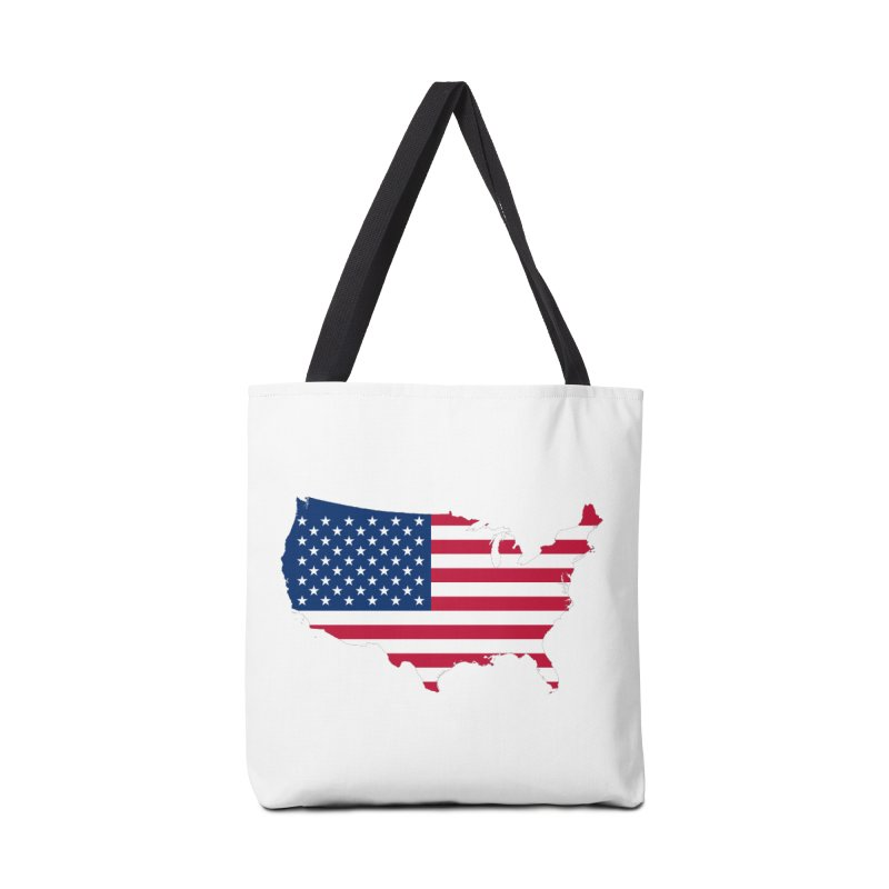 United States Patriot Apparel & Accessories Accessories Tote Bag Bag by Vectors NZ