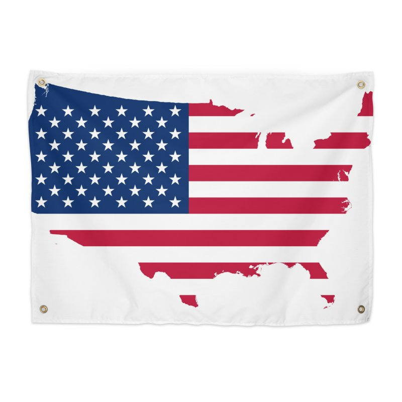 United States Patriot Home Products Home Tapestry by Vectors NZ