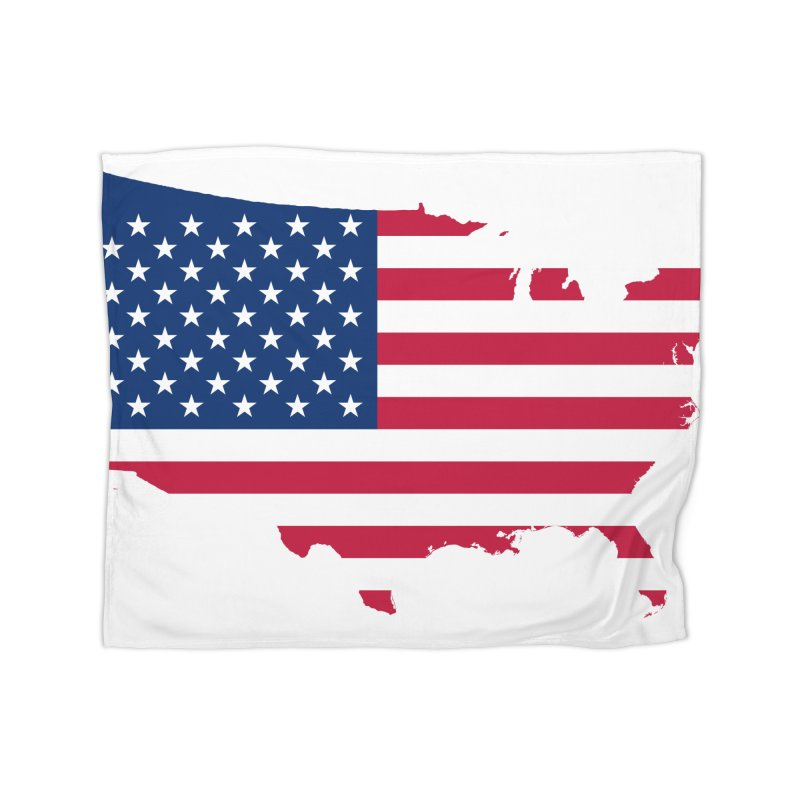 United States Patriot Home Products Home Blanket by Vectors NZ