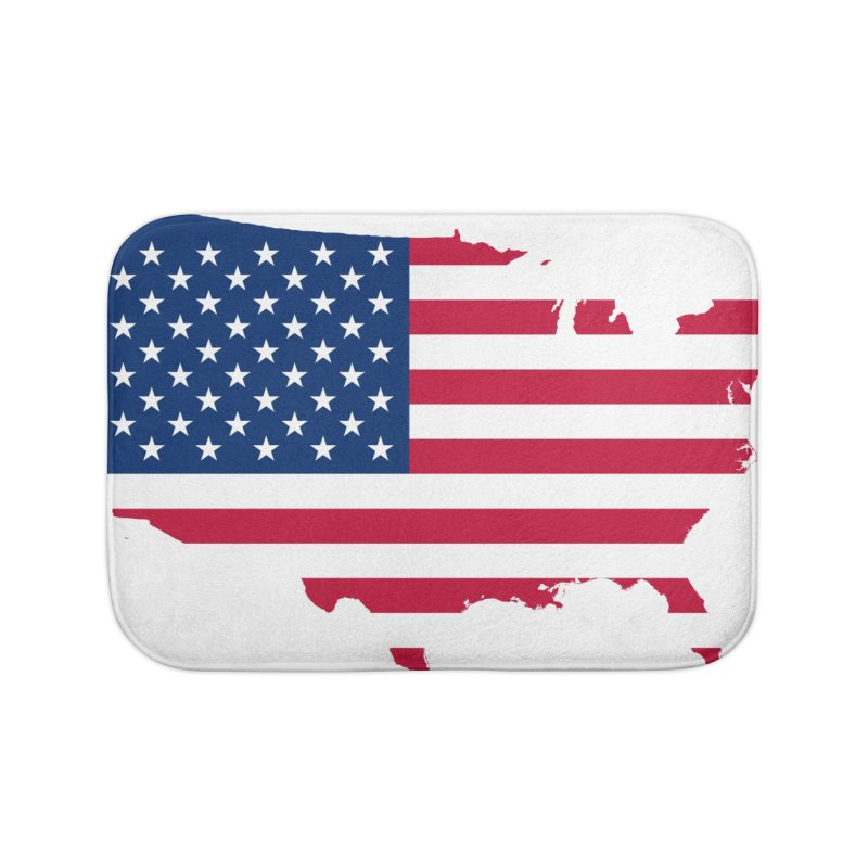 United States Patriot Home Products Home Bath Mat by Vectors NZ