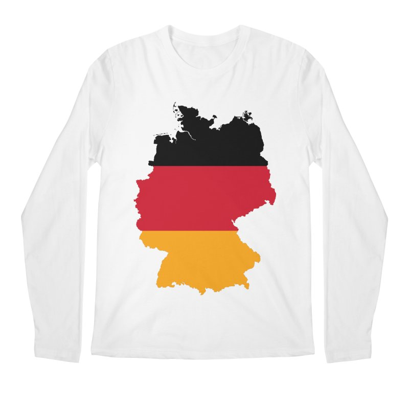 Deutsche Patriot Apparel & Accessories Men's Regular Longsleeve T-Shirt by Vectors NZ