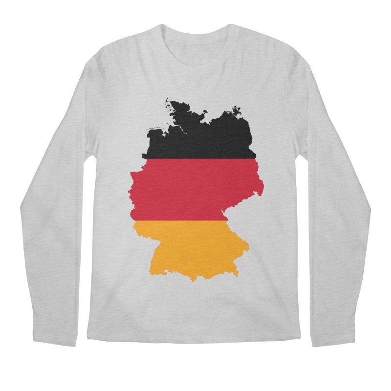 Deutsche Patriot Apparel & Accessories Men's Regular Longsleeve T-Shirt by Vectors NZ