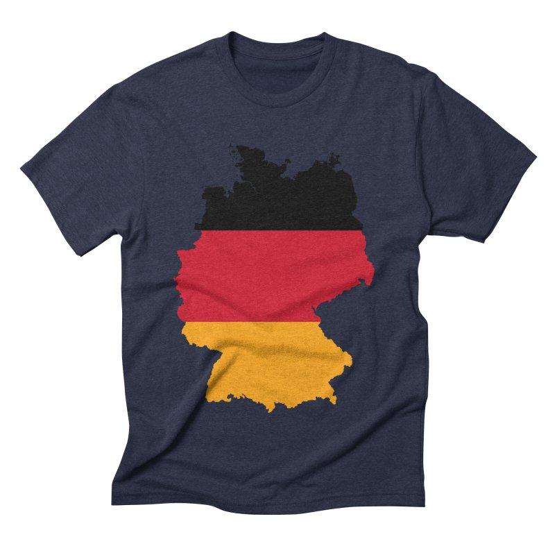 Deutsche Patriot Apparel & Accessories Men's Triblend T-Shirt by Vectors NZ