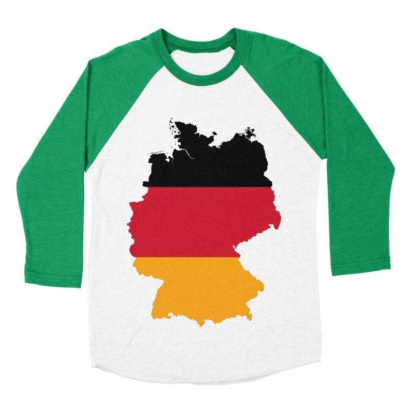 Deutsche Patriot Apparel & Accessories Women's Baseball Triblend Longsleeve T-Shirt by Vectors NZ