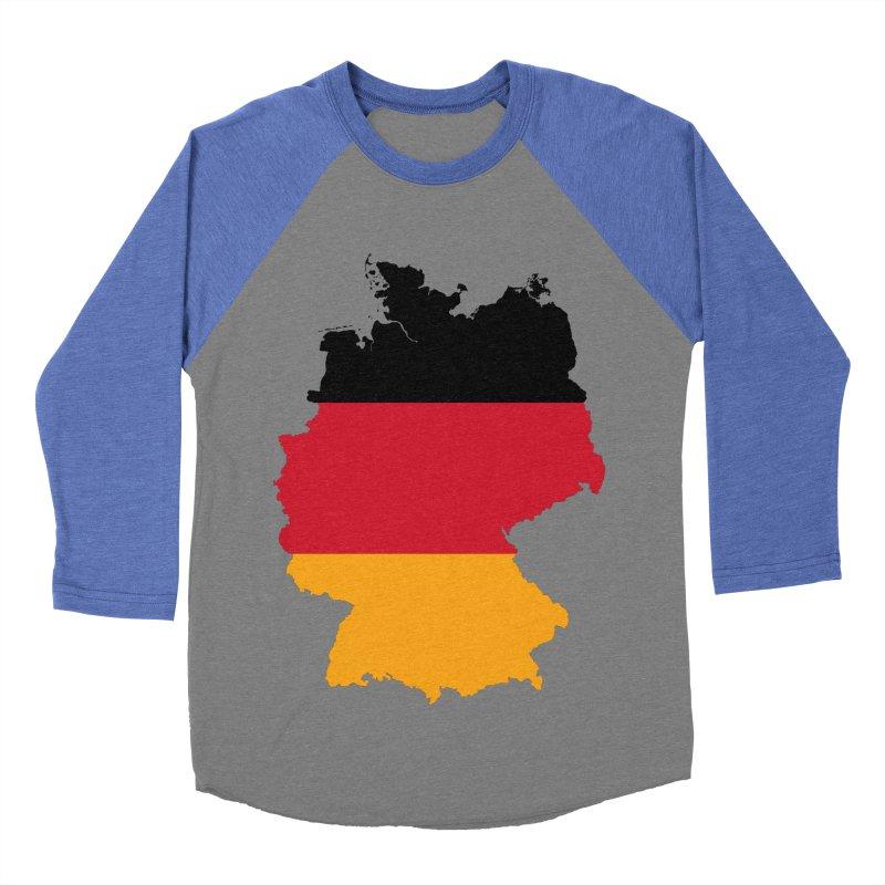Deutsche Patriot Apparel & Accessories Men's Baseball Triblend Longsleeve T-Shirt by Vectors NZ