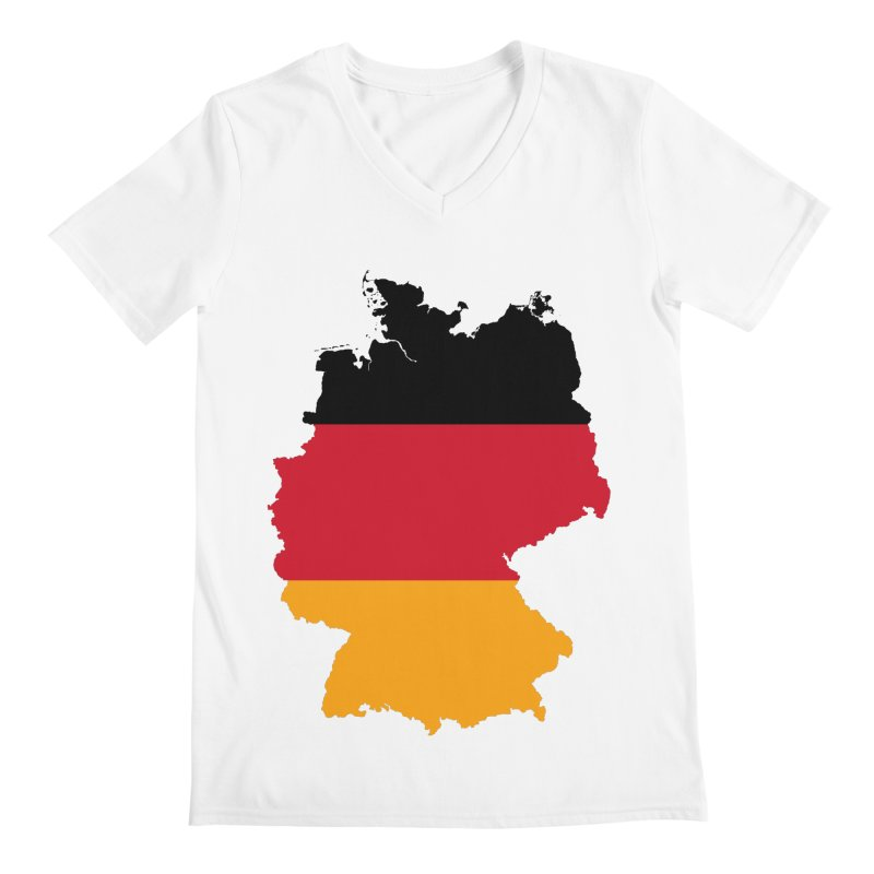 Deutsche Patriot Apparel & Accessories Men's Regular V-Neck by Vectors NZ