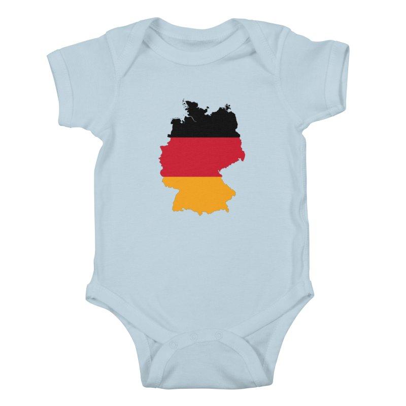Deutsche Patriot Apparel & Accessories Kids Baby Bodysuit by Vectors NZ