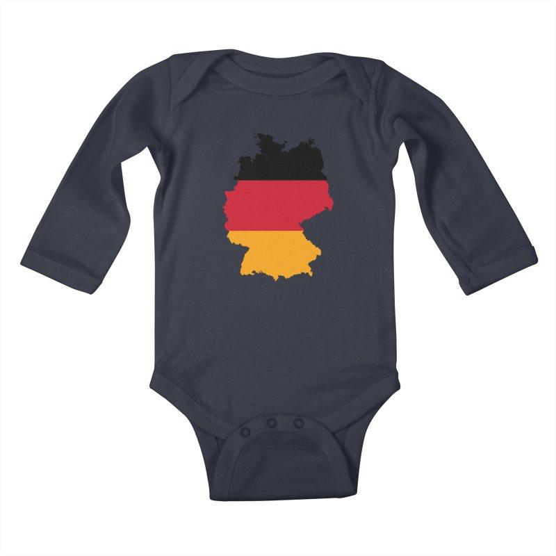 Deutsche Patriot Apparel & Accessories Kids Baby Longsleeve Bodysuit by Vectors NZ