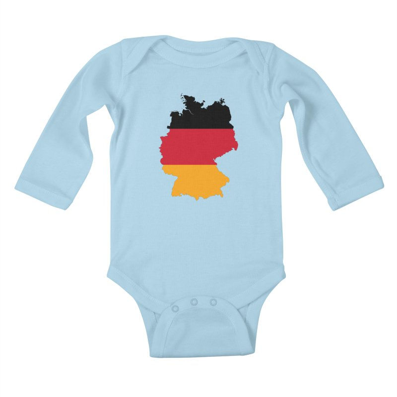 Deutsche Patriot Apparel & Accessories Kids Baby Longsleeve Bodysuit by Vectors NZ