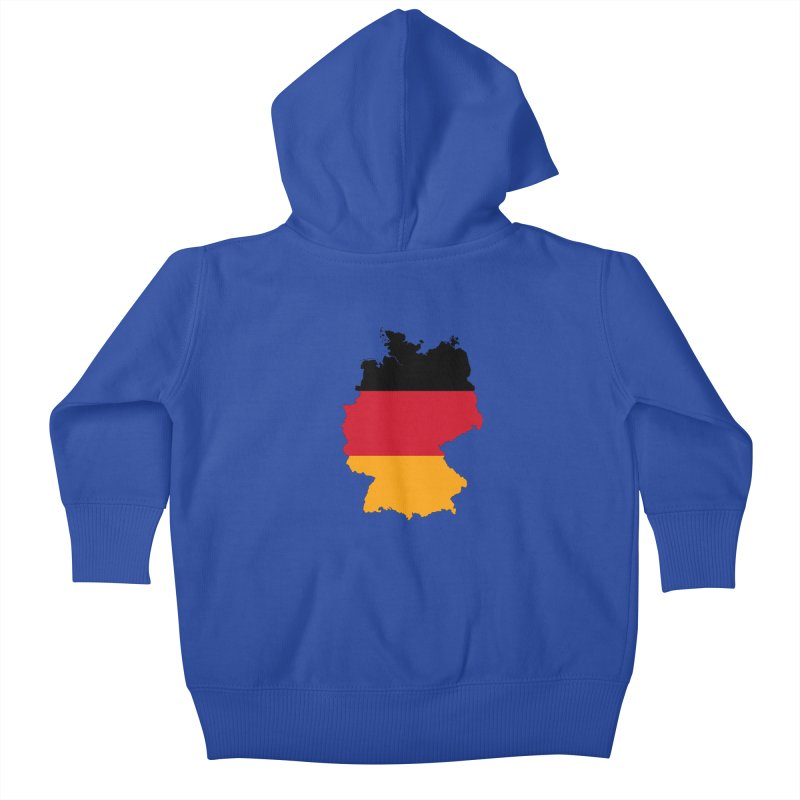 Deutsche Patriot Apparel & Accessories Kids Baby Zip-Up Hoody by Vectors NZ