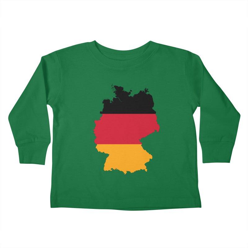 Deutsche Patriot Apparel & Accessories Kids Toddler Longsleeve T-Shirt by Vectors NZ