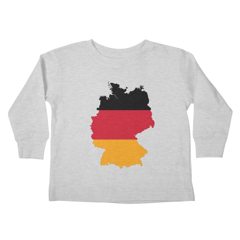 Deutsche Patriot Apparel & Accessories Kids Toddler Longsleeve T-Shirt by Vectors NZ