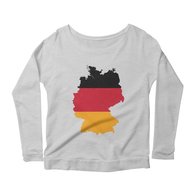 Deutsche Patriot Apparel & Accessories Women's Scoop Neck Longsleeve T-Shirt by Vectors NZ