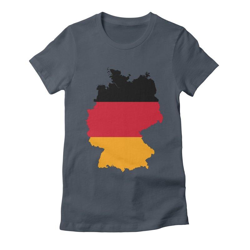 Deutsche Patriot Apparel & Accessories Women's Fitted T-Shirt by Vectors NZ