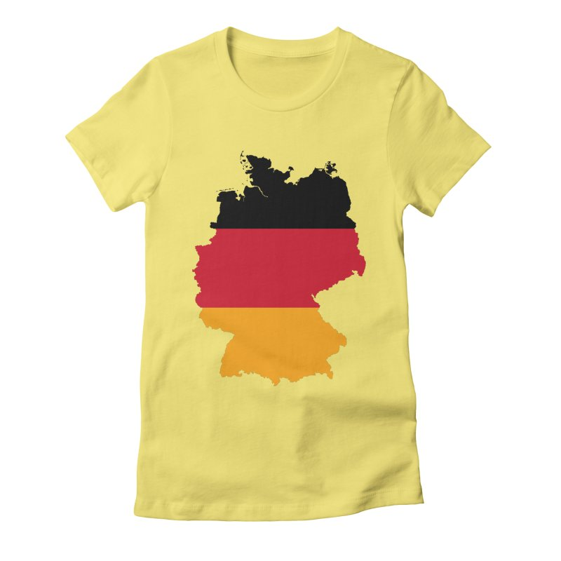 Deutsche Patriot Apparel & Accessories Women's Fitted T-Shirt by Vectors NZ