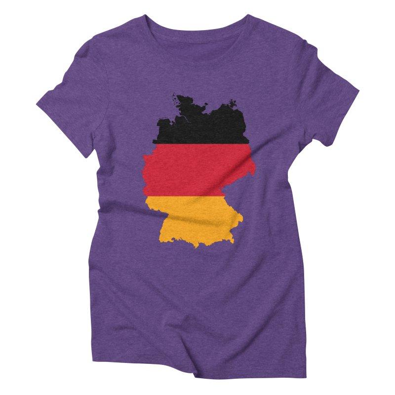 Deutsche Patriot Apparel & Accessories Women's Triblend T-Shirt by Vectors NZ