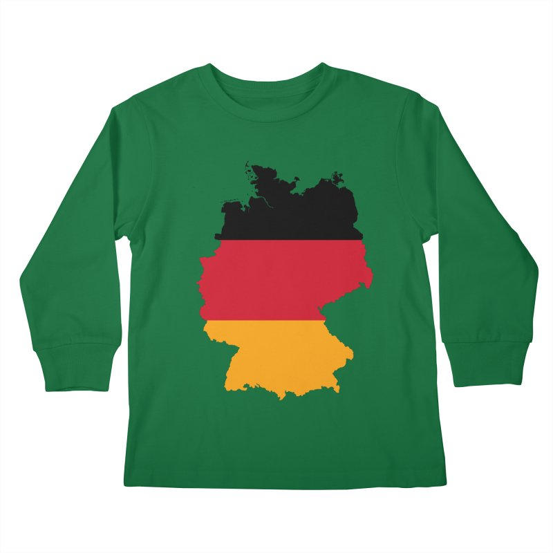 Deutsche Patriot Apparel & Accessories Kids Longsleeve T-Shirt by Vectors NZ