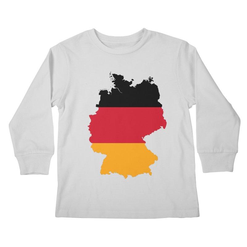 Deutsche Patriot Apparel & Accessories Kids Longsleeve T-Shirt by Vectors NZ