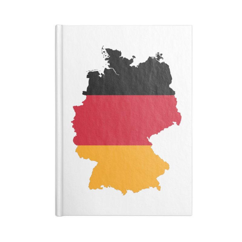 Deutsche Patriot Apparel & Accessories Accessories Blank Journal Notebook by Vectors NZ