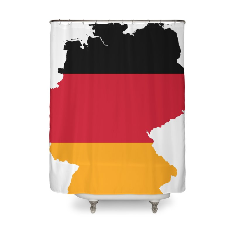 Deutsche Patriot Home Products Home Shower Curtain by Vectors NZ