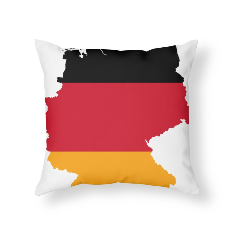 Deutsche Patriot Home Products Home Throw Pillow by Vectors NZ
