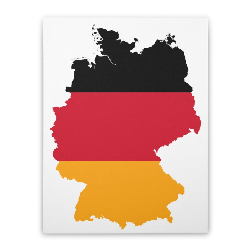 Deutsche Patriot Home Products Home Stretched Canvas by Vectors NZ